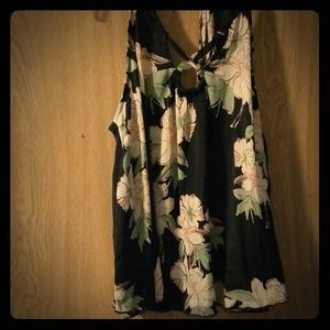 Free People Floral Cami